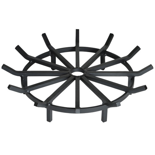 Super Heavy Duty Wagon Wheel Outdoor Fire Pit Grate- 32""