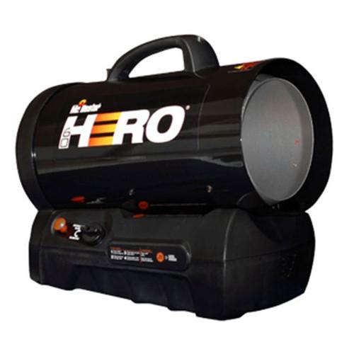 Hero 30,000-60,000 BTU Cordless Forced Air Propane Heater- F228810
