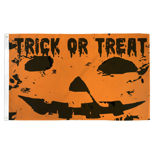 Trick or Treat Flag - 3ft x 5ft Printed Polyester