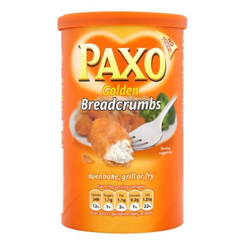 Paxo Golden Breadcrumbs - 8oz (227g)