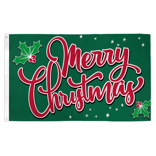 Christmas Sparkles Flag - 3ft x 5ft Printed Polyester