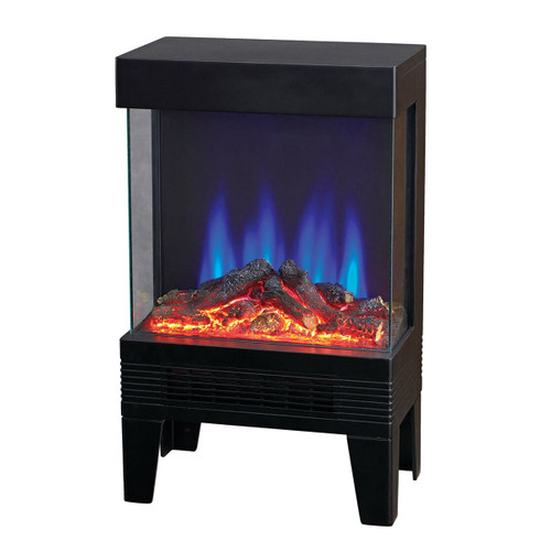 Contemporary 3 Sided Flame View Heater Stove