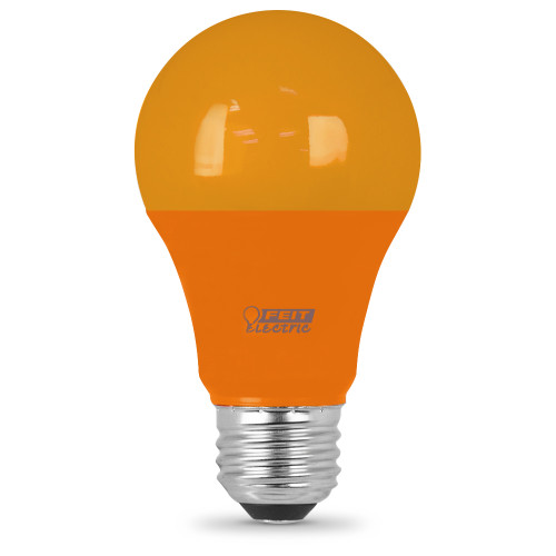 LED A19 - Orange Bulb - 3.5 Watts - Feit Electric