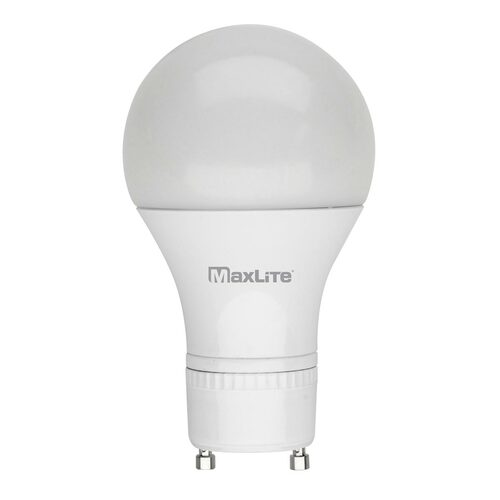 LED A19 - 9W - 60W Equiv - GU24 Base - Dimmable - 800 Lumens - MaxLite