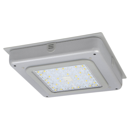 LED Garage Canopy Light - 55W - 6200 Lumens - 5000K - Sylvania