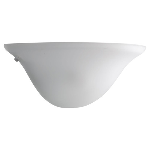Etched Opal Gass - One-Light Wall Sconce - White - Progress Lighting