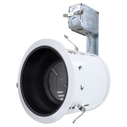 6 Inch Recessed Housing Kit - Non IC Rated - White
