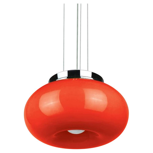 Pop - 2 Light - Hanging Pendant - Flush Mount - Orange