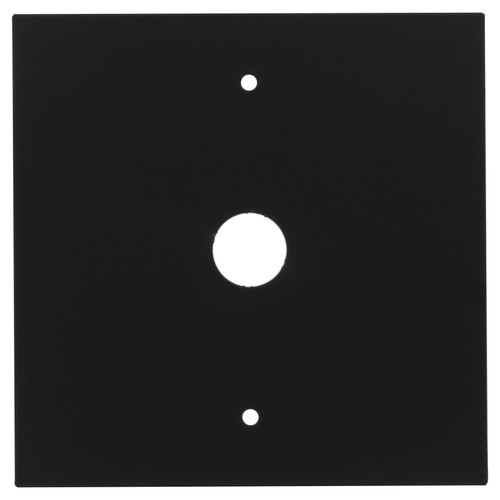 Outlet Box Cover - Black
