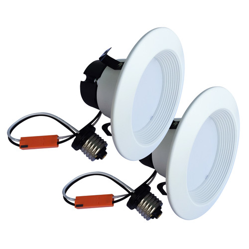 Case of 2 LED 4 inch Recessed Light - 9 Watt - Dimmable - 560 Lumens - LumeGen