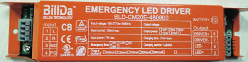 Emergency Driver - 8W - 90 Minute Backup Time