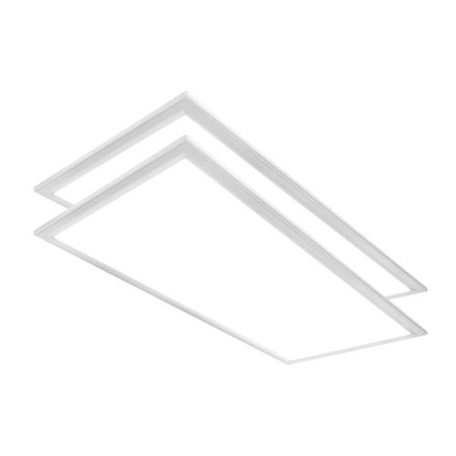 Case of 2 - 2ft x 4ft Flat Panel - 40W - Euri