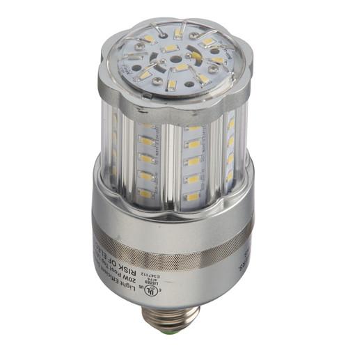 Bollard LED Bulb 18 Watts Retrofit with E26 Edison Base Type 2160 Lumens by Light Efficient Design