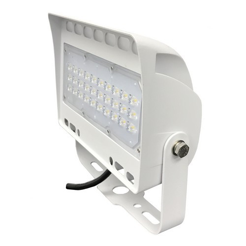 LED Floodlight 50 Watts Yoke Mount 6103 Lumens by Morris - White