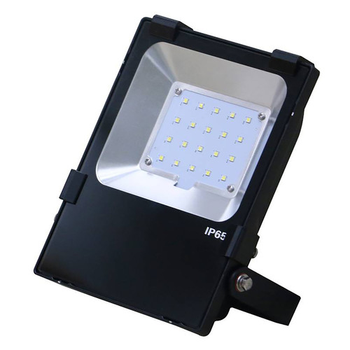 LED Floodlight - 100 Watt - Yoke Mount - 12,000 Lumens