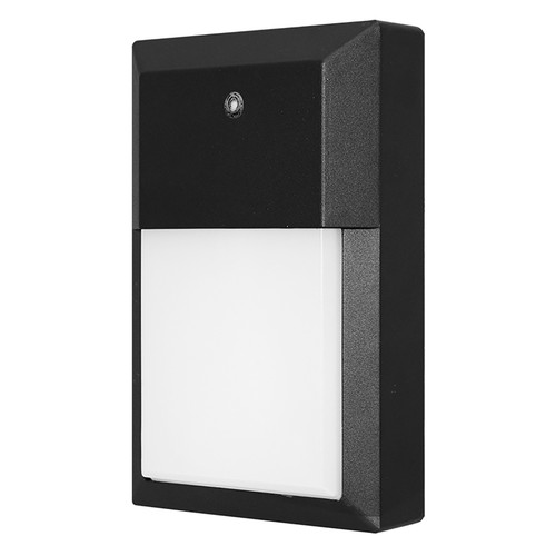 LED 12W Mini Outdoor Integrated Wall Light - With Photocell