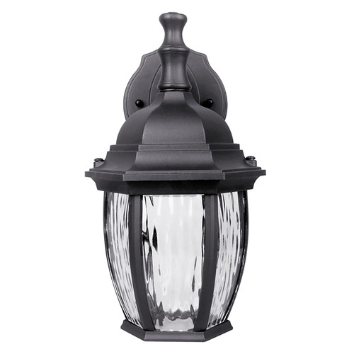 LED Black Outdoor Wall Lantern - Euri Lighting