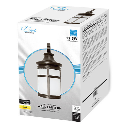 LED 12.5W Outdoor Patio Wall Latern - Euri Lighting