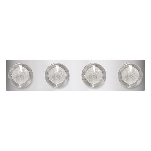 """LED 24"""" Four Light Vanity Light - Chrome - Euri Lighting"""