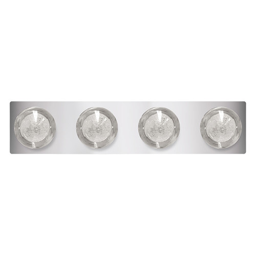 "LED 24"" Four Light Vanity Light - Chrome - Euri Lighting"