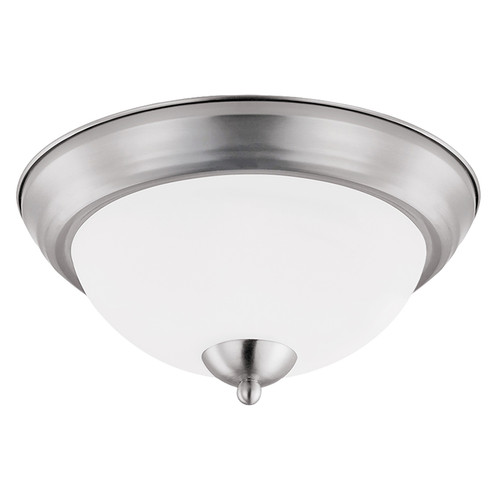 "LED 11W 11"" Round Ceiling Light - Brush Nickel - Euri"