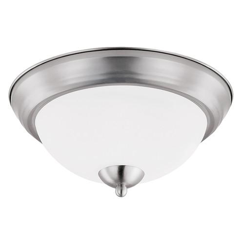 """LED 19W 15"""" Round Ceiling Light - Brushed Nickel - Euri"""