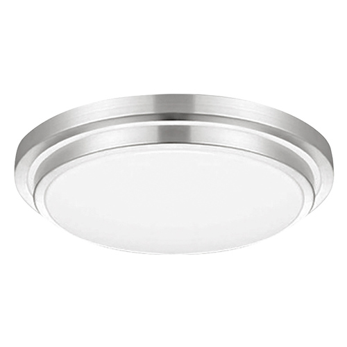 "LED 25W 16"" Round Ceiling Light - Silver - Euri"