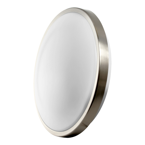 "LED 19W 12"" Round Ceiling Light - Brushed Nickel - Euri"