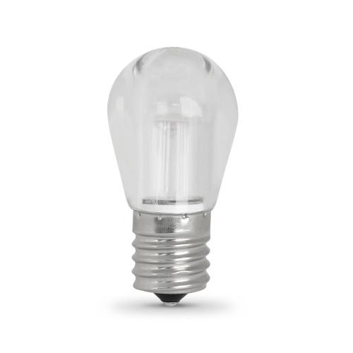 LED S11 Bulb - 1.5 Watts - 20W Equiv - 80 Lumens - Feit Electric