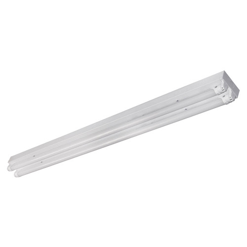LED Double T8 Lamp Ready Utility Strip Fixture - MaxLite No Additions
