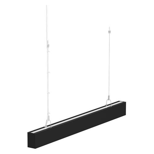 LED 4ft. Linear Light - 40 Watt - 3905 Lumens -Black Lamp Body - LumeGen