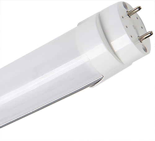 T8 4ft LED Oval Tube (Type A+B) - Ballast Compatible - 18 Watt - 2700 Lumens - Direct Wire - Double Ended Power