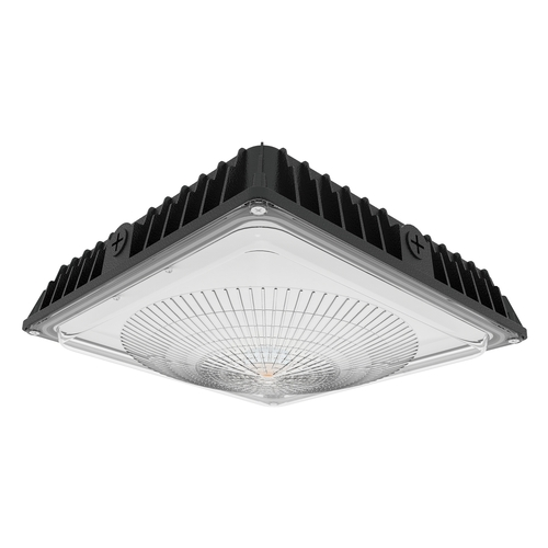 LED Slim Black Canopy - 70 Watts  - 8750 Lumens - LumeGen