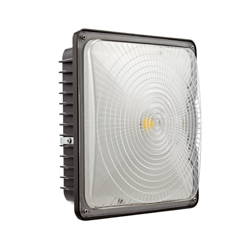 LED Dark Bronze Canopy - 45W