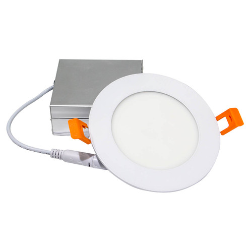 "4"" Recessed Light with External Driver - 9W - IC Rated - Dimmable"