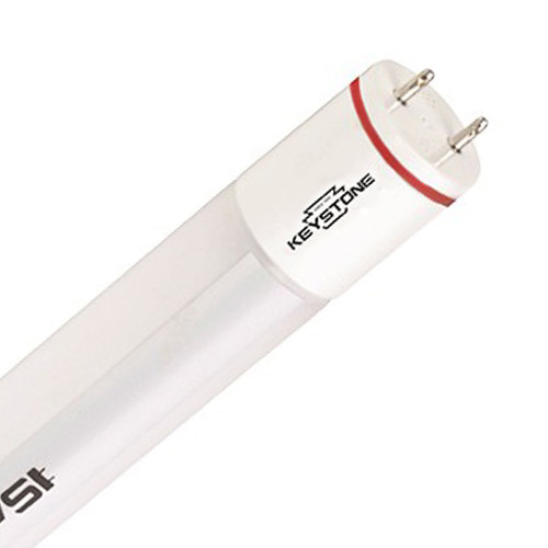 T8 LED 4ft. SmartDrive Tube - 11.5 Watt - 1800 Lumens - Ballast Compatible - Keystone