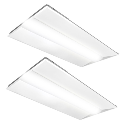 2x4 Slim Design LED Troffer - 42 Watt - Dimmable - - 5460 Lumens