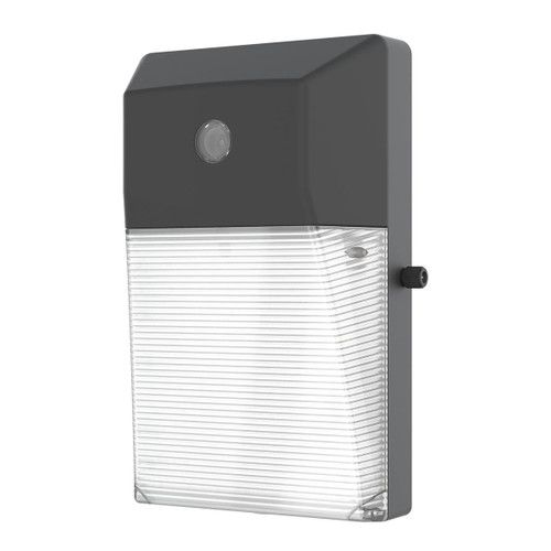 LED Mini Wall Pack - Opal Cover - 24W - 2835 Lumens - Photocell Included - LumeGen