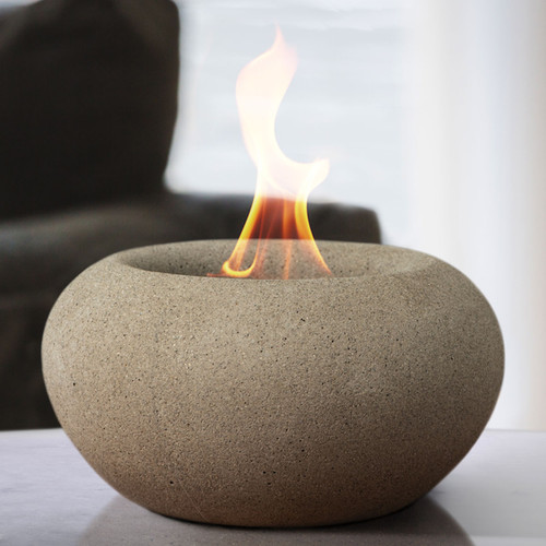 Stone Fire Bowl - Beige