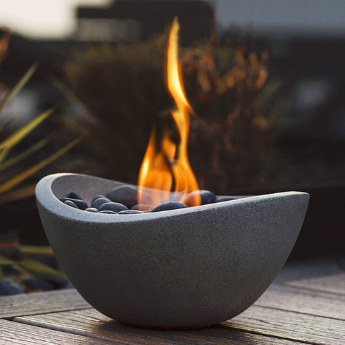 Wave Fire Bowl - Graphite