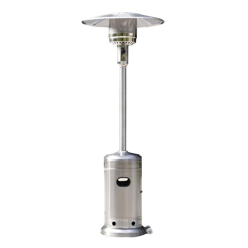 Woodeze Umbrella Patio Heater, 7' tall, Propane, 44,000 BTU - Steel