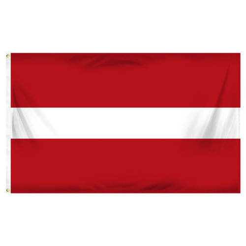 Latvia Flag 3ft x 5ft Printed Polyester