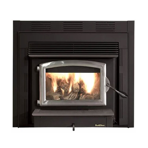 Wood Stove with Pewter Door - Model 21ZC