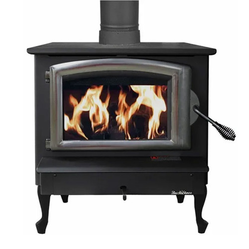 Wood Stove with Pewter Door - Model 74