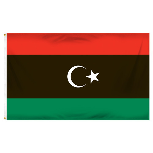 Libya Flag 3ft x 5ft Printed Polyester