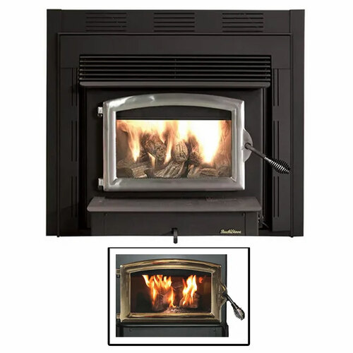 Wood Stove with Gold Door - Model 74ZC