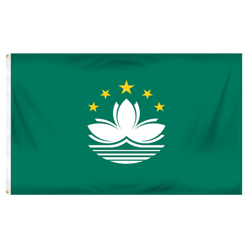 Macau Flag 3ft x 5ft Printed Polyester