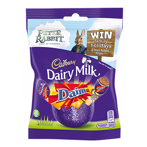 Cadbury Dairy Milk Mini Daim Eggs - 2.71oz (77g)