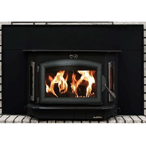 Wood Stove with Black Door - Model 91
