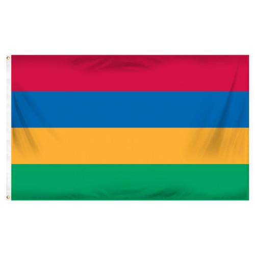 Mauritius Flag 3ft x 5ft Printed Polyester